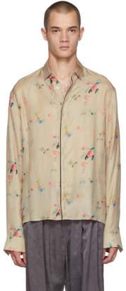 c836c2adf Haider Ackermann Beige Freesia Classic Shirt