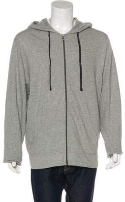 James Perse Zip-Up Hooded Sweater w/ Tags