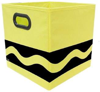 Crayola Modern Littles Serpentine Fabric Storage Bin