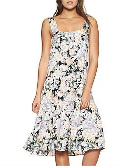 Gardenia Auguste Sunday Midi Dress