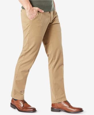 Dockers Workday Straight Fit Smart 360 Flex Khaki Stretch Pants D3