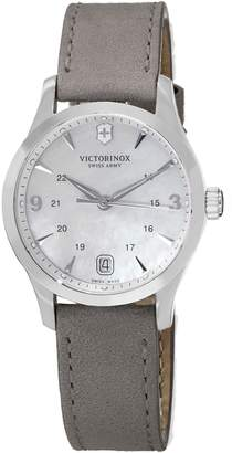 Victorinox Women's Alliance 241662 Leather Swiss Quartz Watch