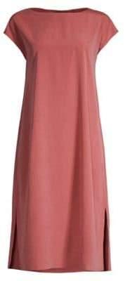 Eileen Fisher Sandwashed T-Shirt Dress