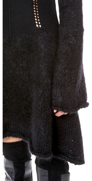 McQ alexander mcqueen Degrade Mohair Dress