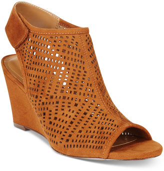 Style & Co. Heatherr Wedge Sandals, Only at Macy's $69.50 thestylecure.com