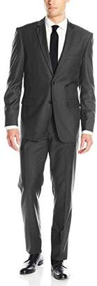 Alain Dupetit Men's Two Button Tr Blend Suit