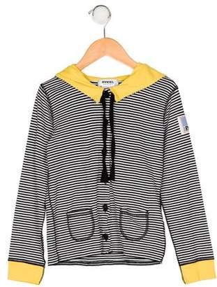Rykiel Enfant Girls' Striped Cardigan