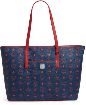 MCM Visetos Anya Shopper Bag