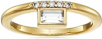 Nicole Miller Nmny Cosmic Baguette Crown Stackable Ring