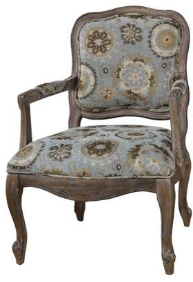 Crestview Collection Hillcrest Rustic Frame & Pattern Chair