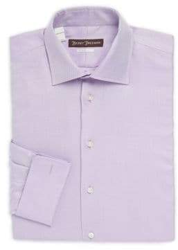 Hickey Freeman Classic-Fit Twill Dress Shirt