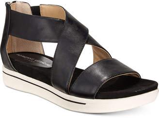 Adrienne Vittadini Claud Sport Flatform Sandals $79 thestylecure.com