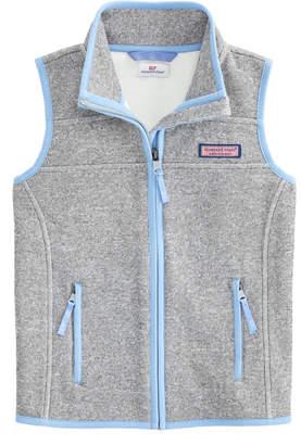 Vineyard Vines Girls Sweater Fleece Vest