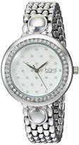Burgi Women 's QuartzステンレススチールCasual Watch , Color : silver-toned (モデル: bur170ss )