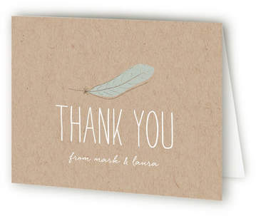 Nest Housewarming Party Thank You Cards