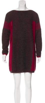 Gary Graham Baby Alpaca Sweater Dress