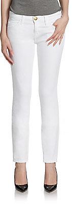 Current/Elliott Skinny Solid Jeans