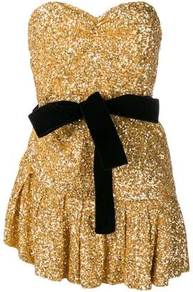 ATTICO sequined mini dress