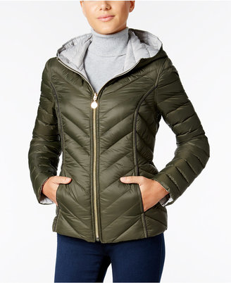 Nautica Reversible Hooded Packable Puffer Coat, Only at Macy's $150 thestylecure.com