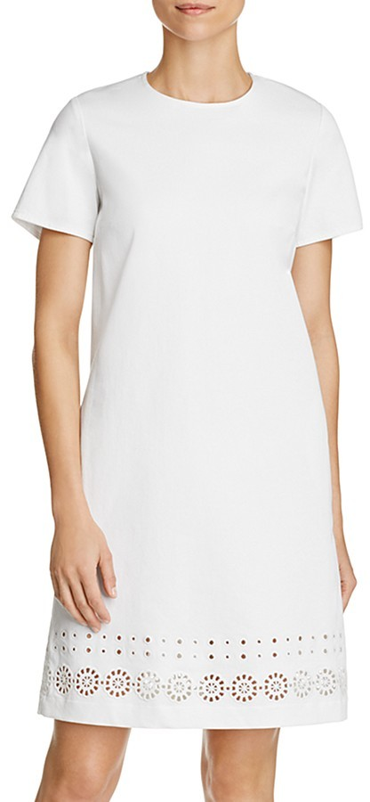 Max Mara Weekend Max Mara Hans Eyelet Shift Dress