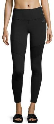 The North Face Motivation Mesh Performance Leggings, Black $75 thestylecure.com
