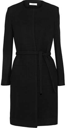 IRO Kila Brushed Wool-Blend Twill Coat