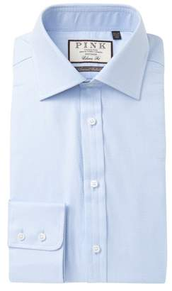 Thomas Pink Ramsey Textured Classic Fit Dress Shirt