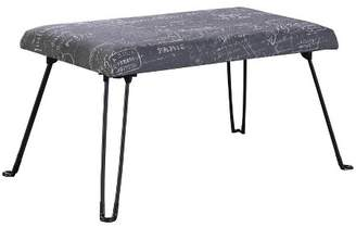 Ore International Backless Seat Foldable Legs