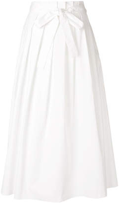 Fabiana Filippi belted waist a-line skirt