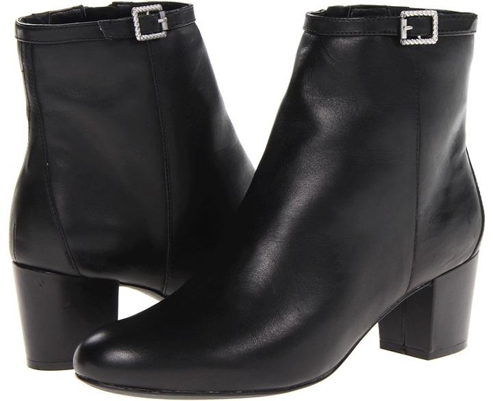 Rockport Phaedra Bootie (Black Smooth) - Footwear