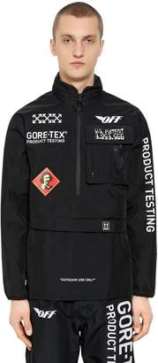 Off-White Product Testing Gore-Tex Anorak W/ Hood