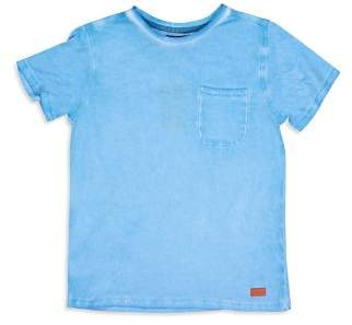 7 For All Mankind Boys' Washed Pocket Tee - Little Kid