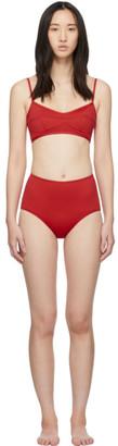 Her Line Red Suzy Classic High-Rise Bikini
