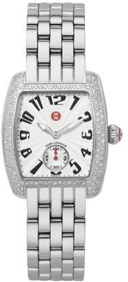 Michele Women's MWW02A000124 Mini Urban Diamond Steel Bracelet Watch
