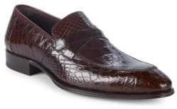 Mezlan Sierpes Crocodile Dress Shoes