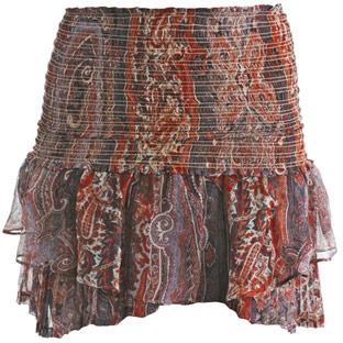 Isabel Marant Paisley print mini-skirt