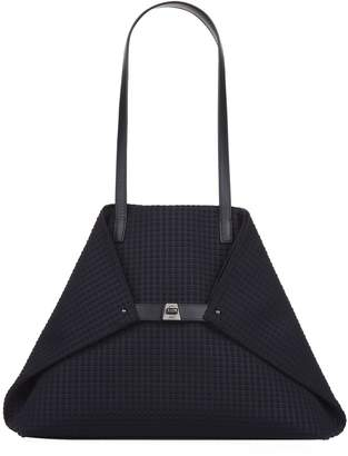 Akris Ai Textured Medium Shoulder Bag
