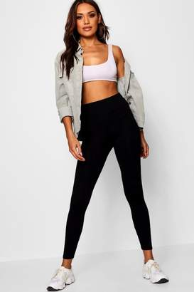 boohoo Basic High Waist Leggings