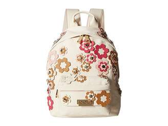 Zac Posen Eartha Small Backpack - Hex Floral Applique Backpack Bags