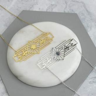 Nell Little Pablo Laser Cut Aztec Necklace