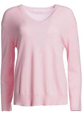 Fabiana Filippi Women's Cashmere Lurex V-Neck Sweater