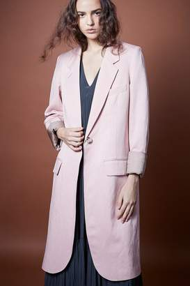 Smythe Pink Overcoat