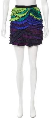 Diane von Furstenberg Paulita Mini Skirt