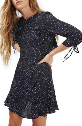 Women's Topshop Star Ruffle Dress $85 thestylecure.com