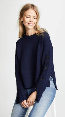 Jason Wu Grey Crew Neck Sweater