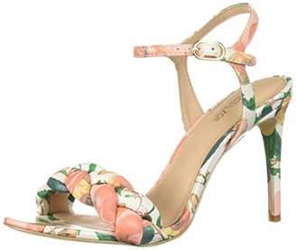 Rachel Zoe Women's Kelly Braid Sandal Heeled