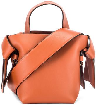 Acne Studios Micro Musubi Bag in Almond Brown | FWRD