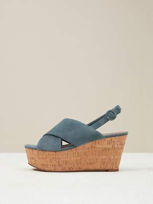 06316005b9d3ca Diane von Furstenberg Juno Sport Suede Wedge Sandals
