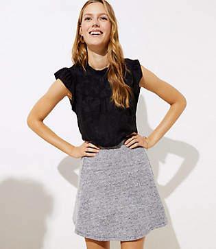 LOFT Pull On Flippy Skirt