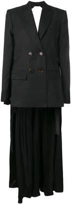 Seen Users tie waist jacket dress